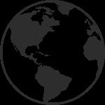 globe icon for region switcher