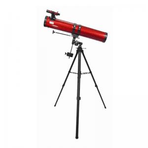 Telescopio reflector newtoniano de 45 a 100 veces
