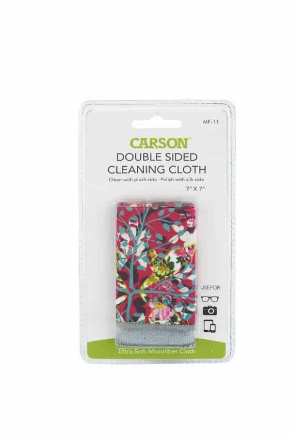 pink double sided microfiber cloth packaging
