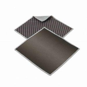 Paño De Limpieza Doble Faz / Pack De 2 Unidades – Negro Clásico