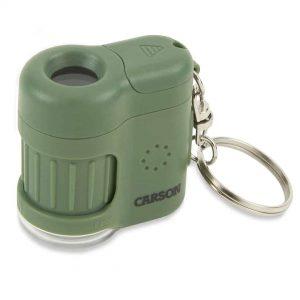 Green LED and UV pocket microscope