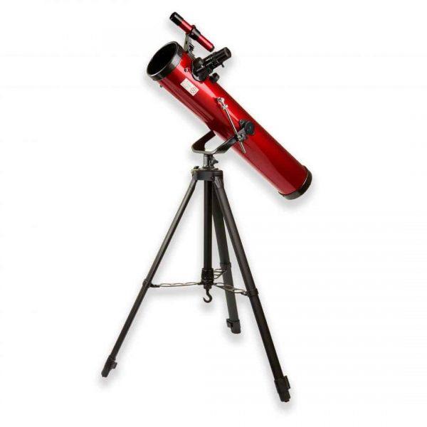 Telescopio newtoniano de 35 a 78 veces