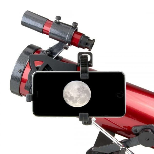 Carson Red Planet Telescope with Smartphone Adapter