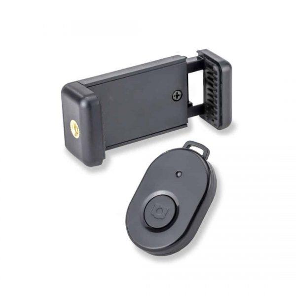 Flexarm-Stativ mit Smartphone-Adapter