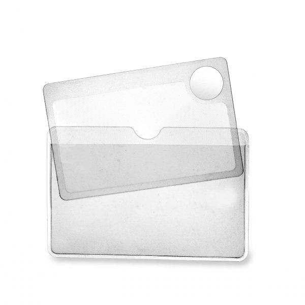 2 wallet sized magnifier