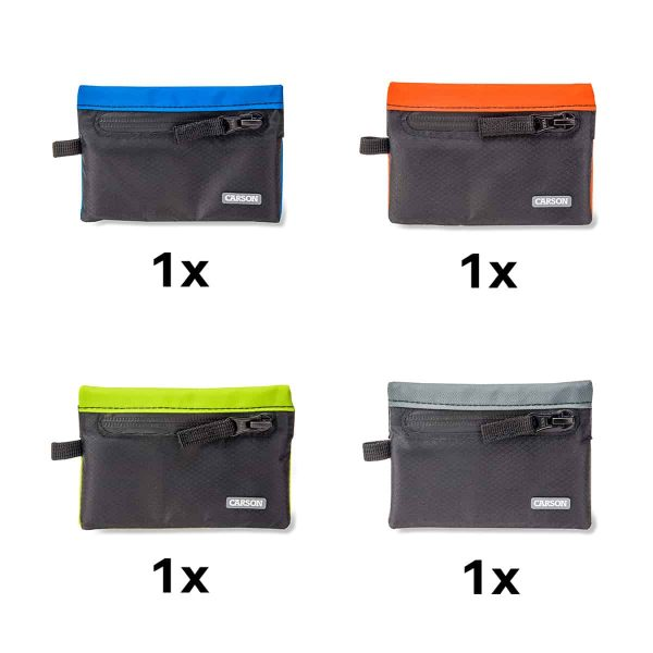 Assorted pack of floating wallets