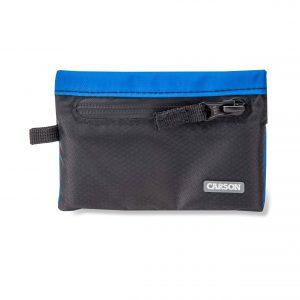 Blue floating wallet