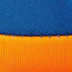 Orange/Blau